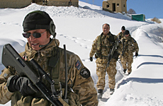 New Zealand troops will continue their patrols in the Bamiyan Province. Photo / Supplied