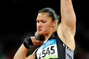 Valerie Vili is in contention for a third award. Photo / NZ Herald