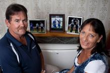 Stu and Jan McCullum say seeing both of their boys doing well in the national side is something special. Photo / Simon Baker 