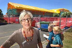Deputy principal Jenny Griggs says the children just get on with their work. Photo / Alan Gibson