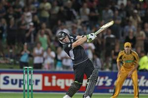 New Zealand would not have won Wednesday's one-dayer without Scott Styris. Photo / Getty Images