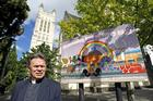 Archdeacon Glynn Cardy says NZ Bus's decision to ban the slogans is regrettable. Photo / Steven McNicholl