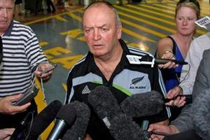All Blacks coach Graham Henry. Photo / Dean Purcell