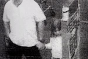 A CCTV image from a Dunedin supermarket showing a girl strongly resembling Madeleine McCann. Photo / Supplied