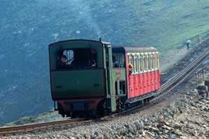 Snowdon Mountain Railway in Gwynedd, Wales. Photo / www.britainonview.com