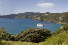 The overnight cruise ship Ipipiri was named after a sacred Maori name for the Bay of Islands. Photo / Supplied