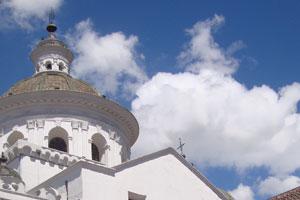 The La Merced church in Quito, Ecuador. Photo / Herald on Sunday