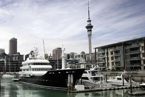 Ulysses, the yacht owned by Auckland man Graeme Hart, who Forbes magazine said today had a net worth of $US5.3bn - $NZ7.6bn. Photo / Herald on Sunday.