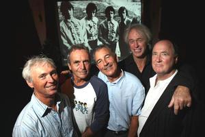 The Fourmyula, from left, Ali Richardson, Martin Hope, Chris Parry, Wayne Mason and Carl Evenson. Photo / Dean Purcell