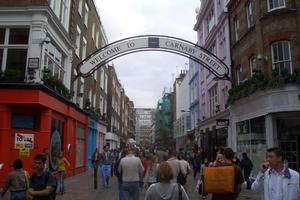 Carnaby St has moved with the times but remains  true to it 60s values. Photo / Wikimedia Commons