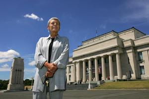 Museum director Dr Vanda Vitali. Photo / Brett Phibbs