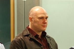 Graeme Burton, pictured in court, killed Karl Kuchenbecker while on parole in 2007. Photo / Greg Bowker