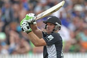 Gareth Hopkins' selection for the Black Caps this season has been a qualified success. Photo / Getty Images