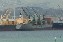 Ships at the Port of Tauranga. Photo / Alan Gibson
