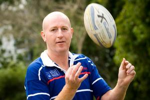John Christie, 41, is a player and coach for Marist Old Boys. Photo / Herald on Sunday