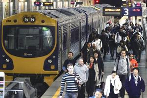 Auckland will have a world-class rail system in just three more years, says KiwiRail. Photo / Herald on Sunday