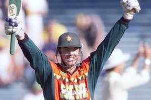 Former cricket captain Heath Streak is now a national coach. Photo / Paul Estcourt