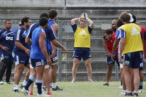 Tom McCartney says he prepares thoroughly ahead of each Blues match in case he gets the nod. Photo / Greg Bowker