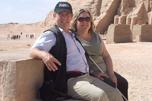 Initially nervous, Julie Woods absolutely loved her trip to the Middle East. Photo / NZ Herald