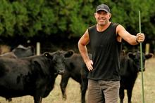 Steve Williams on his lifestyle block just out of Auckland. Photo / Janna Dixon