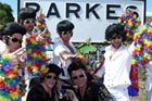 In 2007, Parkes held the distinction of having the most Elvis impersonators in one place at one time. Photo / Supplied