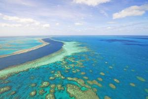 The Great Barrier Reef near the Whitsundays. Photo / Supplied
