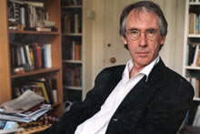 Under the hilarity of Ian McEwan's new novel lies a dark message about humanity. Photo / Supplied.