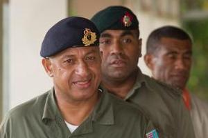Prime Minister Frank Bainimarama yesterday issued a new media decree. File photo / Greg Bowker