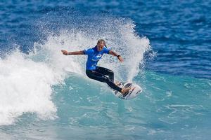 Paige Hareb has been harassed as local surfers get upset at the ASP tour this weekend. File Photo