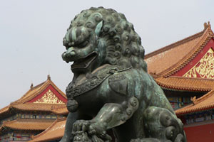 After viewing the breathtaking Forbidden City, travellers can take an overnight train to Shanghai. Photo / Jim Eagles