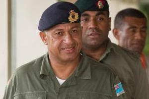 Voreqe Bainimarama staged the country's fourth coup in December 2006. File Photo / Greg Bowker