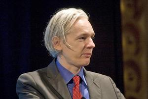Julian Assange, a founder of WikiLeaks. Photo / Supplied