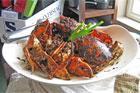Malaysian crab. Photo / Supplied