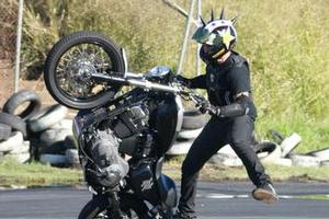 Stuntz Inc will put on some dangerous and spectatular stunts on two wheels.