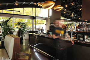 Solstice Bar and Bistro. Photo / Supplied