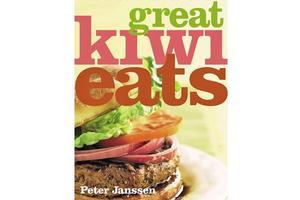 Great Kiwi Eats, by Peter Janssen. Photo / Supplied