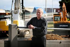 Jim Jackson worries the new underpass might still be too threatening at night. Photo / Natalie Slade