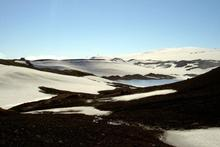 Katla is part of the Mrdalsjkull glacier, located to the east of Eyjafjallajkull. Photo / Wikimedia Commons user Chris 73