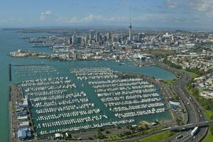 Plans include turning parts of Westhaven Marina into campervan sites. Photo / Brett Phibbs