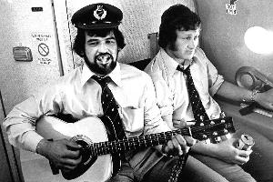 Billy Bush (L) believes he was unfairly penalised in 1976 for being Maori. Photo / NZ Herald