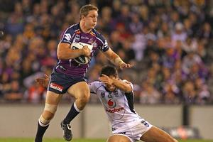 The Warriors were caught cold by a devastating Melbourne Storm. Photo / Getty Images