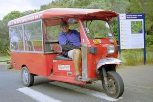 The same rules apply to tuk-tuks as apply to cyclists. Photo / Northern Advocate