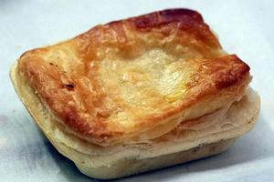 Bacon and egg pie. Photo / Paul Taylor, Hawke's Bay Today