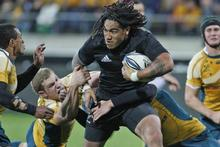 The All Blacks are favourites to win next years World Cup, ahead of Australia and South Africa. Photo / Mark Mitchell