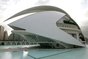Valencia's Palace of Arts. Photo / Supplied