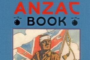 The Anzac Book. Photo / Supplied