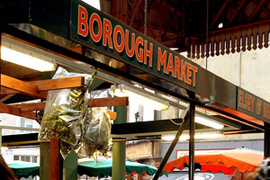 London's Borough Market carries on a 1000-year tradition. Photo / Supplied