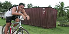 Watch: Niue bike race