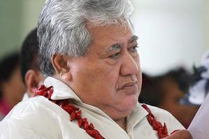 Samoa prime minister Tuilaepa Sailele Malielegaoi. Photo / Greg Bowker