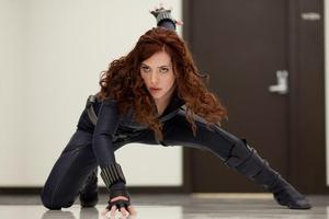 The actress hopes to play the Black Widow again in further Iron Man sequels. Photo / Supplied